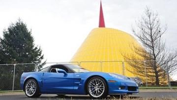 2009 Corvette ZR1 Blue Devil Returns To The National Corvette Museum