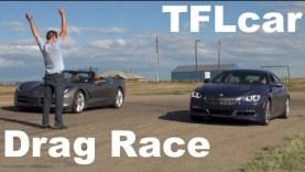 2015 Chevy Corvette vs BMW Alpina B6 xDrive Gran Coupe Drag Race