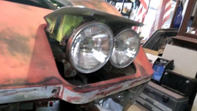 C3- Corvette Headlight Removal-Easy Bolt Locator