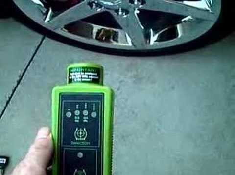 C6 Corvette Tire Sensors and the TIPS or KTi tools