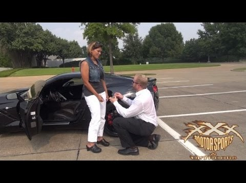 Corvette-Driving Girlfriend Proposed To In a Unique Way