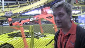 Corvette Factory Tour – Corvette C7 Build