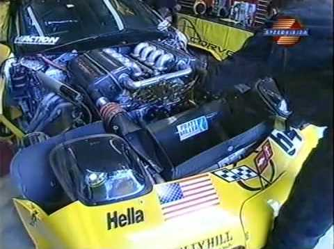 Corvette Racing C5-R Engine Development