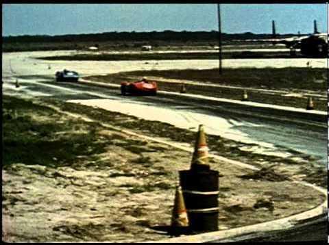 Corvette SS at Sebring Race Day 1957