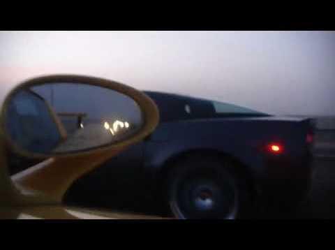 Corvette ZR1 vs Porsche Carrera GT