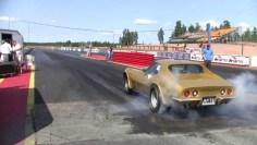 Corvettte C3 Drag race