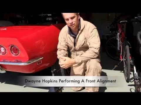 Front Alignment On A C3 Corvette. Part 2 of Full Car Alignment.