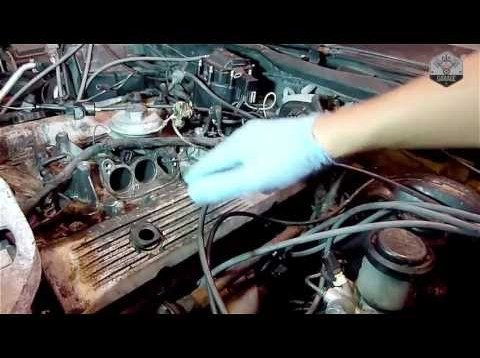How To Remove Corvette C4 Valve Covers – Driver side