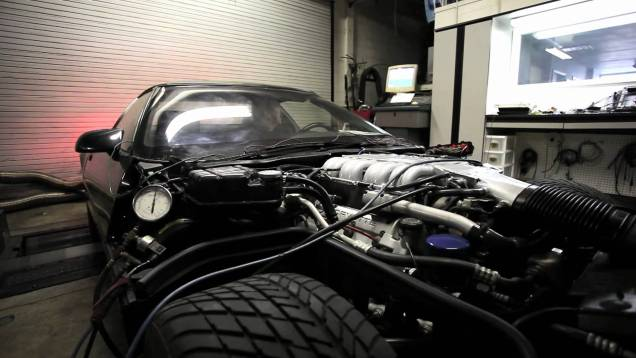 LT5 ZR-1 Corvette Chassis Dyno