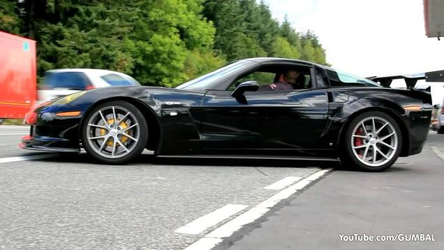 Modified Corvette C6 Z06 – Brutal Sounds!
