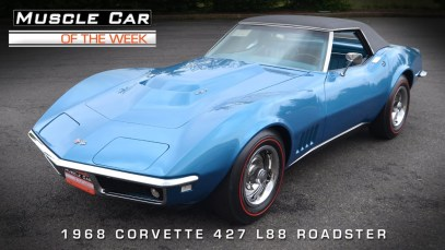 Muscle Car of the Week – 1968 L88 Corvette Roadster