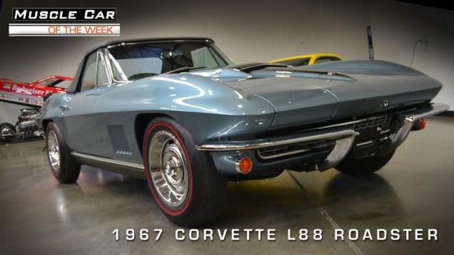 Muscle Car Of The Week Video #28: 1967 Corvette L88 Roadster