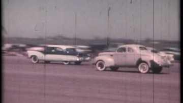 Noland Adams – Corvette Drag Races – 1956