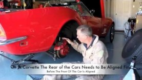 Rear Wheel Alignment, Adjusting Toe/Camber on a C3 Corvette By Hopkins (Part 1 of 2)