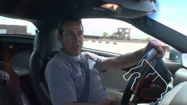 Spring Mountain Motorsports Ranch ZR1 Driving School 4 'A Lap with a Pro'
