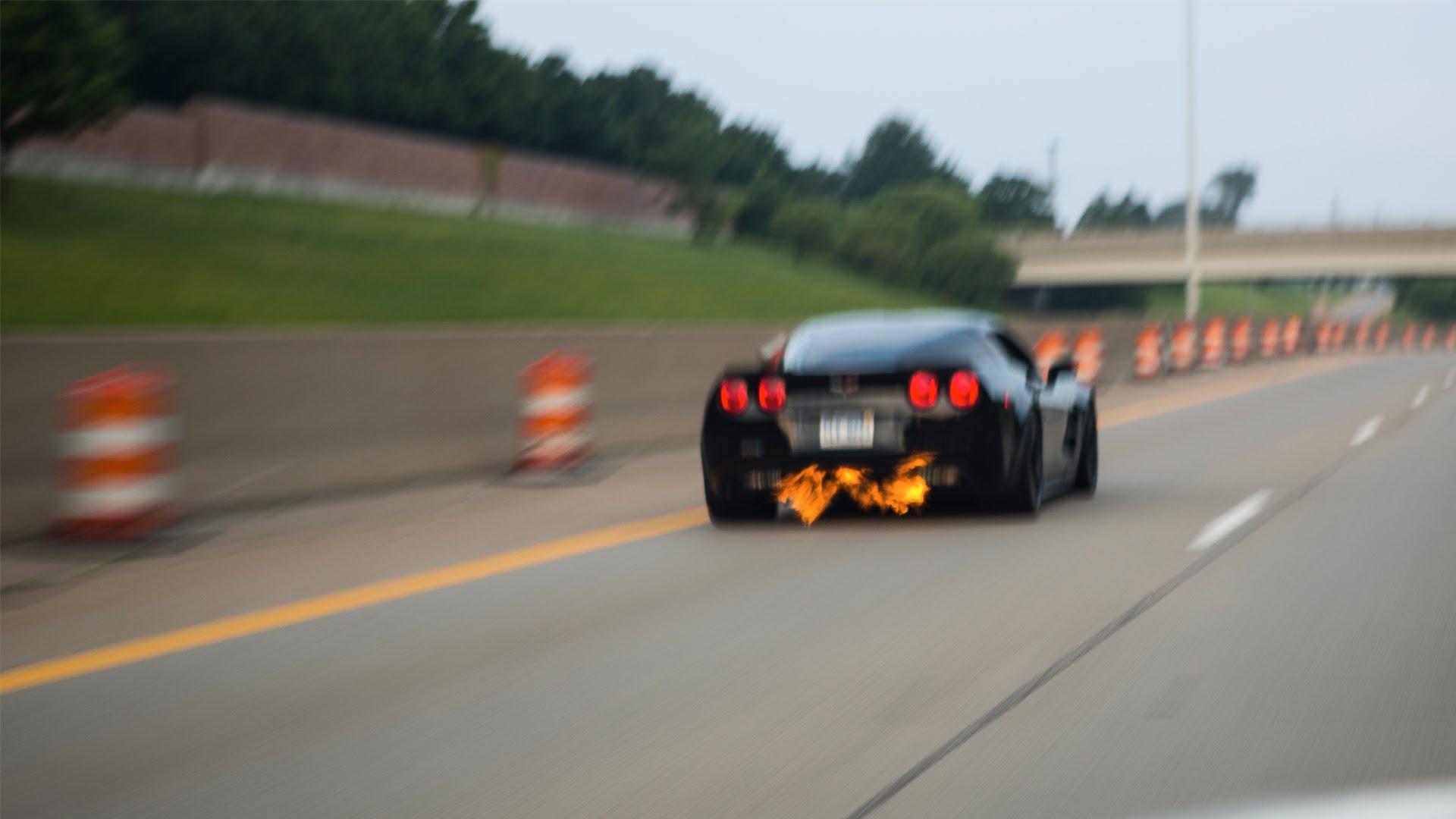 ZR1 Corvette Top Speed 2013 Michigan Mile VetteTube Corvette Videos