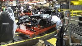 2014 Chevrolet Corvette Stingray Assembly Plant