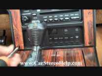 Chevrolet Corvette Bose Stereo Removal 1984 – 1989