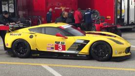 Corvette Racing Roar Before the Rolex 24 hours 2015