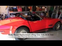 How To Install Car/Auto Body Mounts On A C3 Corvette