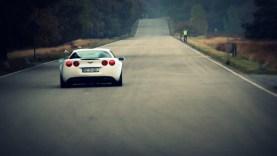 LOUD Corvette C6 Z06 with Corsa Exhaust Accelerating