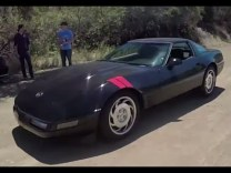 Go Canyon Carving In A 1991 C4 Corvette