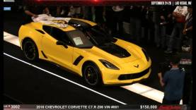 2016 Special Edition C7.R Z06 Corvette #001 Sells for $500,000 at Barrett-Jackson Las Vegas Auction!