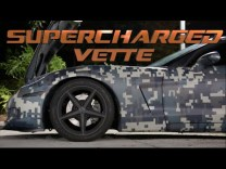 Supercharged Corvette and NITROUS Viper battle on the street!
