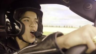 Riding Shotgun with Michelle Rodriguez: Corvette