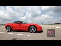 Juan Pablo Montoya Ride Along in C6 Corvette ZR1