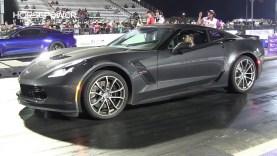 2017 Grand Sport C7 Corvette vs Modified Mustang S550