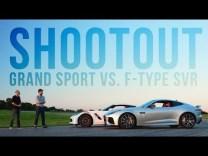 2017 C7 Corvette Grand Sport Goes Up Against the Jaguar F-Type SVR
