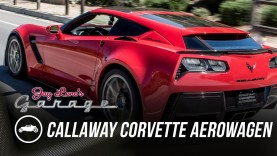 Jay Leno Takes the 2016 Callaway Corvette Aerowagen For a Spin