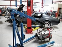 How to Pull the Motor Out of a 1968 – 1982 C3Corvette