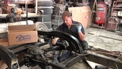 C2/C3 Corvette Rear Suspension Rebuild