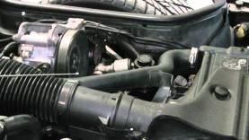 C4 Corvette Cutaway Up Rad Hose