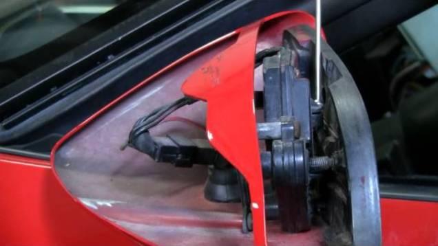 C4 Corvette Cutaway Side Mirror