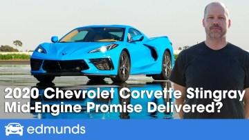 Edmunds Test Drives the new 2020 C8 Corvette – Full Review