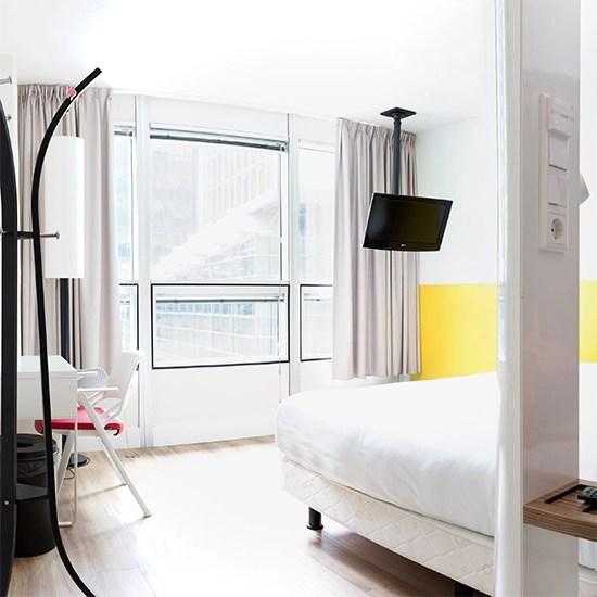 Qbic Hotel Amsterdam Wtc Modern Budget Hotel Amsterdam