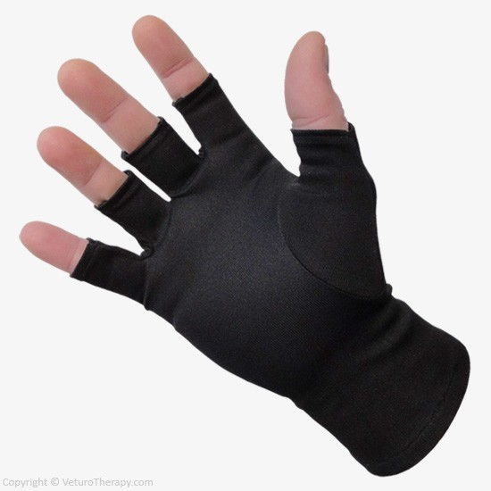 Infrared Therapy Gloves Half Finger Natural Hand Pain Relief