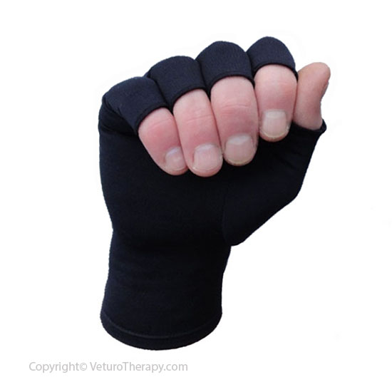 Gloves With Fingertips Out: Infrared Arthritis Gloves Half Finger Compression For Hand