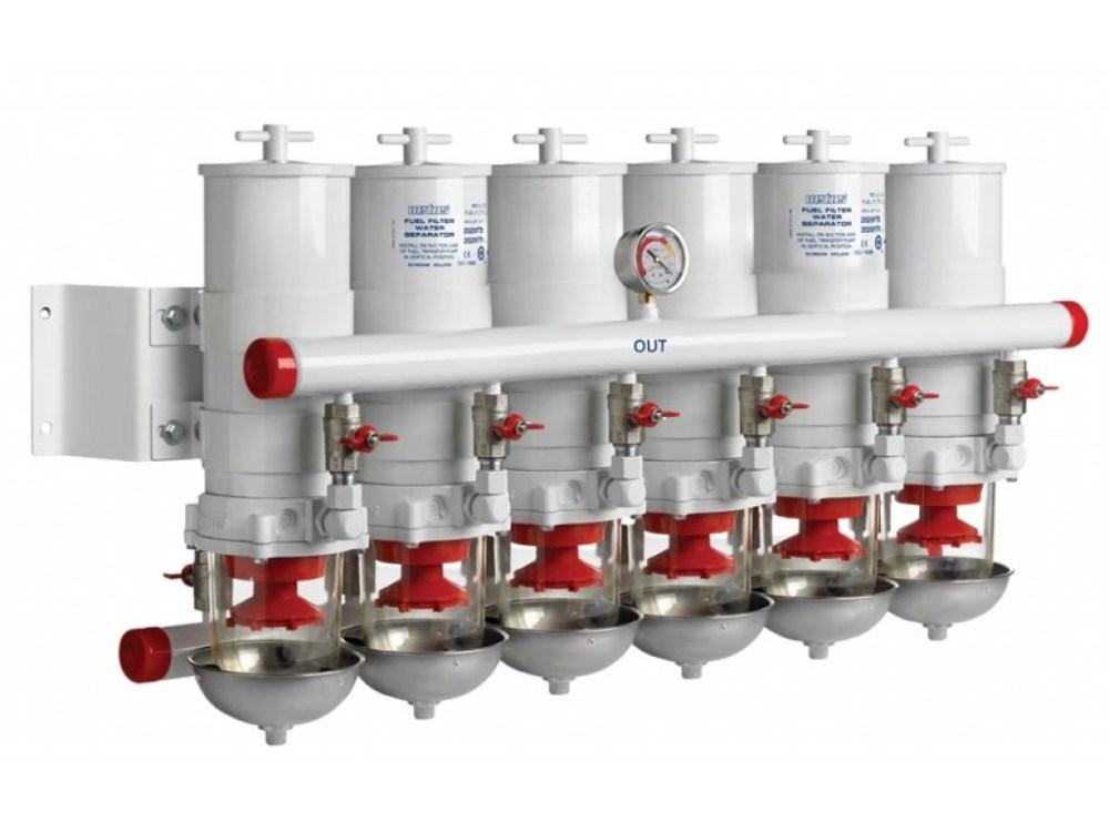 medium resolution of diesel fuel filter water separator 2 6 in line