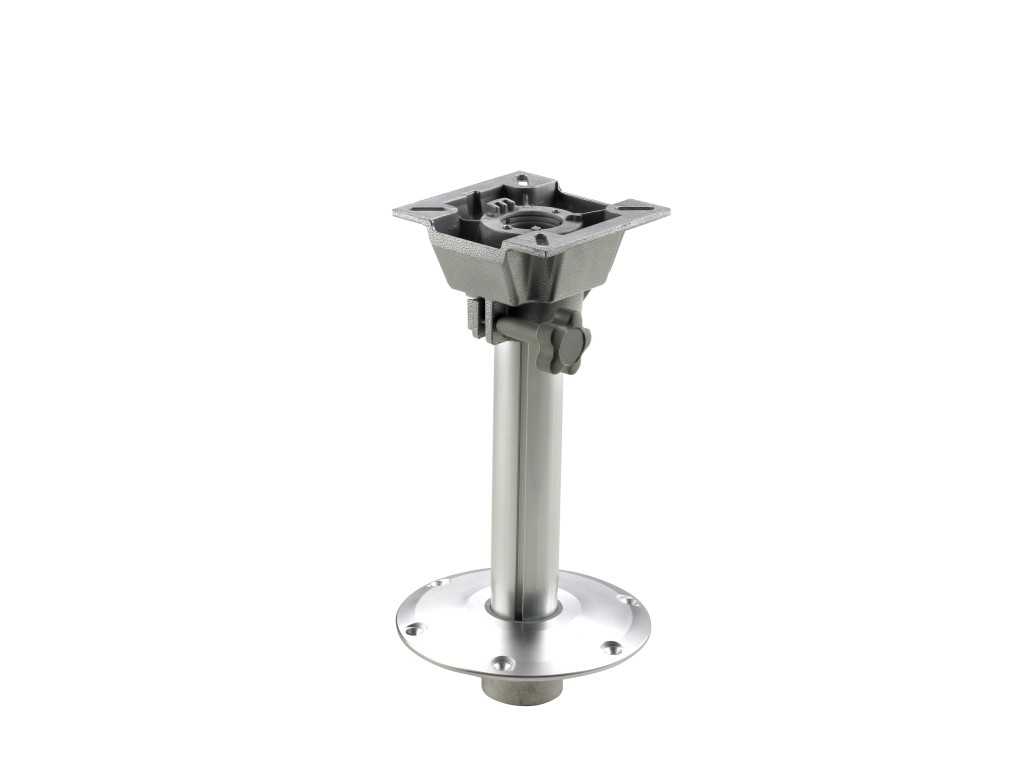 Boat Seat Pedestal Fixed Height With Slide