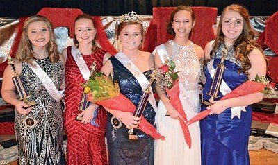 Sierra Hamilton was selected as the 2017 Switzerland County 'Queen of Hearts' at the pageant held Saturday night at Switzerland County High School. The pageant is sponsored each year by the Switzerland County FFA chapter