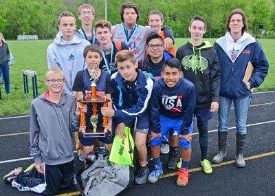 Vevay Media Group Invitational Boys Champions