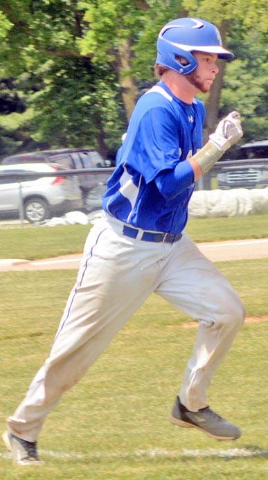 Matt Martini singled twice against White River Valley and once in the regional final.