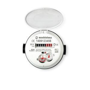 Kunststof watermeter  Maddalena MVM PLUS C Q3=2.5 1P/L L=165