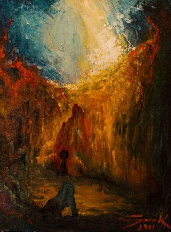 Mystical Art Paintings Acrylic