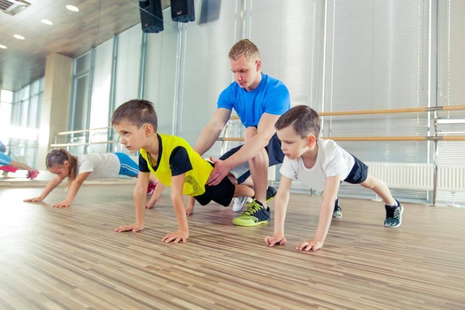 fitnes za decu