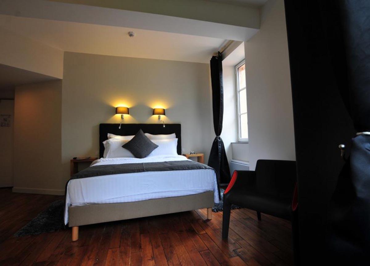SY Hotels  Vzelay la Terrasse  Les Glycines  Chambre La Terrasse  Htel SY La Terrasse Vzelay